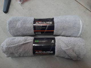 2  8 Pk Microfiber Auto Detail Cloths 14