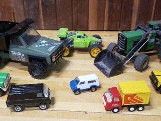 Assortment of Tonka Vehicles