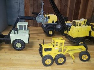 Tonka Crane  Excavator   Road Grade