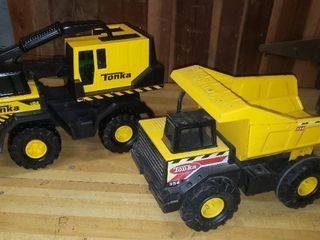 Tonka Crane   Dump Truck