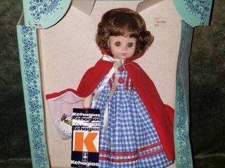 Kehagias Fairy Tale Series Red Riding Hood Doll