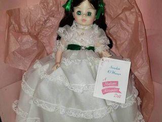 Madame Alexander Gone With the Wind Scarlett O Hara Doll