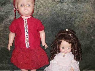 Pair of Vintage Dolls