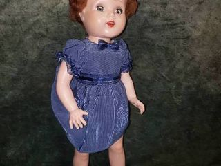 17  HP Doll w Caracul Hair  Open Mouth