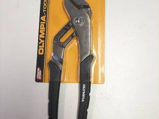 10  Tongue And Groove Joint Pliers  Slip Joint Cushioned Grips Olympia Tools