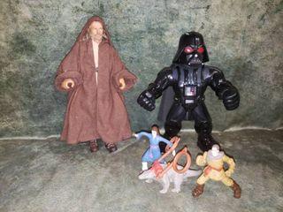Star Wars lot   Obi Wan  Darth Vader