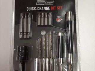 15 Pc Quick Change Bit Set