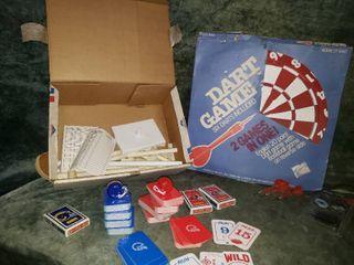 Adult Dart Board  Darts    Vintage Football Game