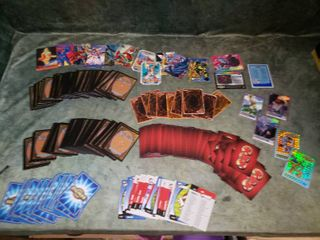 Digimon  Yu Gi Uh  Rumiko  Magic   Other Assorted Trading Cards