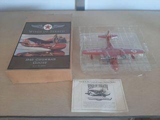 Texaco 1940 Grumman Goose Aipplane Bank