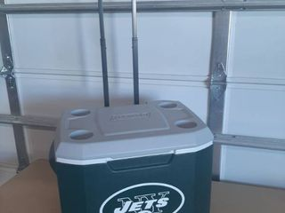 Coleman NY Jets Cooler on Wheels