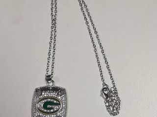 Green Bay Packers Pendant on Chain
