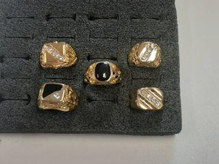 5  Gents Rings