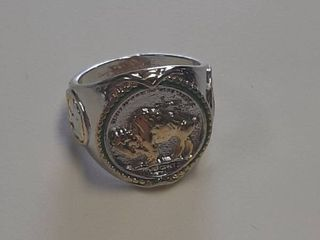 Ring with Buffalo