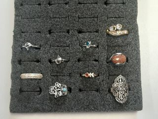 Assorted Rings   Holder Not Included