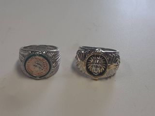 2 Rings with Indians