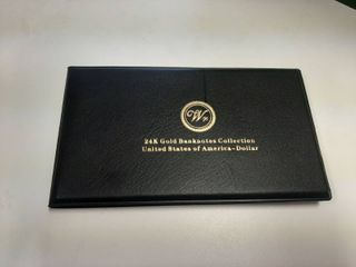 24K Gold Banknote Collection   7 Pieces
