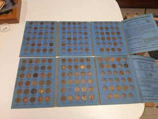 2 Partial lincoln Penny Books