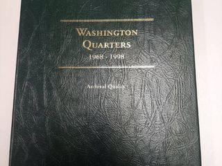 Partial Washington Quarters Book