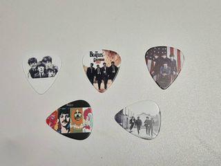 5  Beatles Guitar Picks