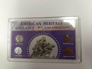 American Heritage WWII Coin Collection