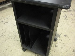 UTIlITY CART  WITH CORD ACCESS HOlES