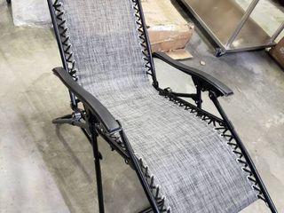 lavish Home Zero Gravity lounge Chairs   Set of 2