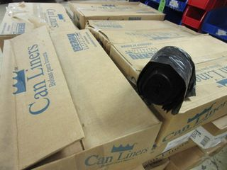 CASES OF CAN lINERS  SIZE 22  x 24  FITTING UP TO 7 10 GAllON   NEW