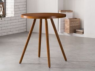 Corvus lille Mid Century Modern Bamboo Dining Side Table Retail 151 99