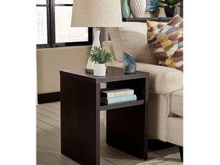 Storage Furniture End Table   Black Walnut ClosetMaid