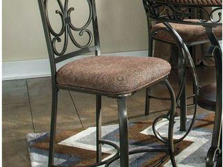 Glambrey Upholstered Barstools   Set of 4