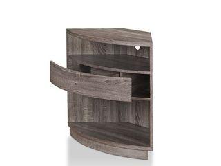 Furniture of America Aishe Urban Contemporary Corner Storage Cabinet Retail 252 49