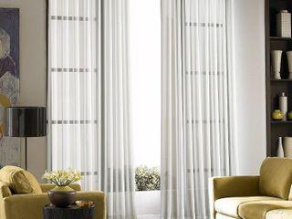 Soho Voile lightweight Sheer Grommet long length Curtain Panels   Set of 2