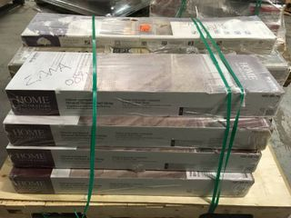 ASSORTED PAllET WITH MIXED FlOORING  SEE PICS