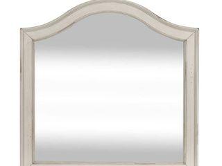 Rustic Traditions White Vanity Desk Mirror Retail 82 99