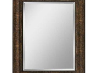 Headwest Copper Beaded Bronze Wall Mirror   28 5 X 34 5 Retail 109 99