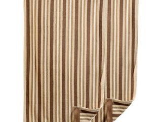 Miranda Haus Stripe Cotton Bath Towel  Set of 2