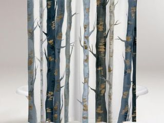 OliverGal  Behind the Woods Shower Curtain  Retail 85 49