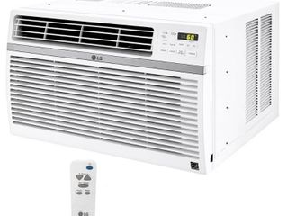 lG Electronics 15 000 BTU 115 Volt Window Air Conditioner with Remote and ENERGY STAR lW1516ER not used