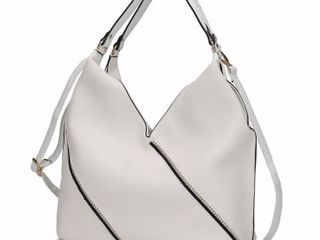 MKF Collection Francelle Hobo Bag by Mia K    White