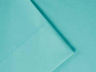 Comfort Classics Solid Microfiber Ultra Soft Wrinkle Free Sheet Set  Blue  Twin Xl