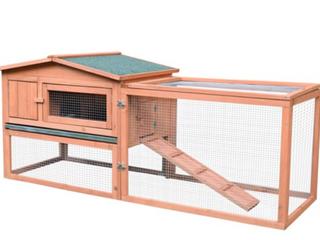 Pawhut Outdoor Guinea Pig Pet House  B2