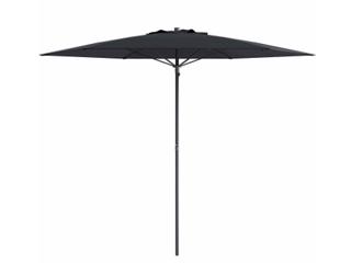 Patio Beach Umbrella  Black  B3