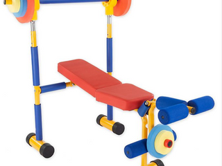 Hey  Play  Toy Bench Press and leg Extension  B3