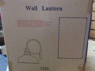 Outdoor Wall lantern Black  C1