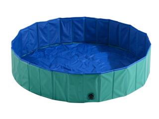 PawHut Foldable PVC Pet Swimming Pool  C1