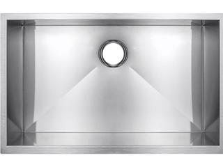 Handmade Undermount Stainless Steel Kitchen Sink 33in  C1