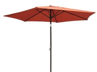 International Caravan 8ft Patio Umbrella Terracotta  C1