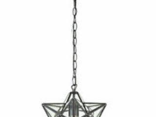 Sterling Star 1 light Glass Pendant lamp  A1