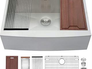 lordear 33  Farmhouse Sink ledge Workstation  C3